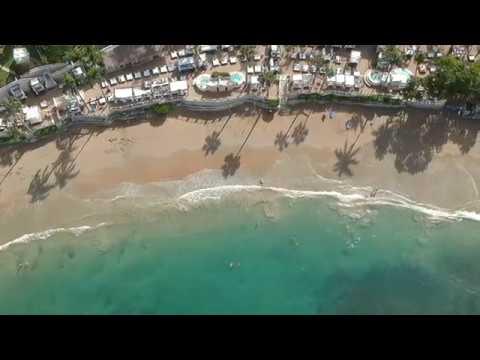 DRONE Puerto Plata, Cofresi Beach