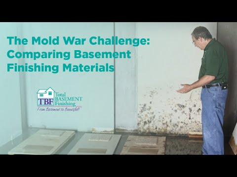 The Mold War Challenge: Comparing Basement Finishing Materials
