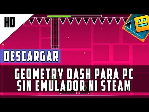 Descargar Geometry Dash Para PC (Sin Steam) (Sin Emulador) + Soluciones | MEGA | 2015 | HD
