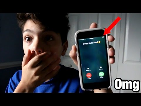 PRANK CALLING MY CREEPY STALKER FAN! *HE COMES TO MY HOUSE!*