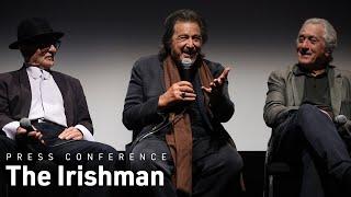 Martin Scorsese, Robert De Niro, Al Pacino & Joe Pesci on The Irishman | NYFF57