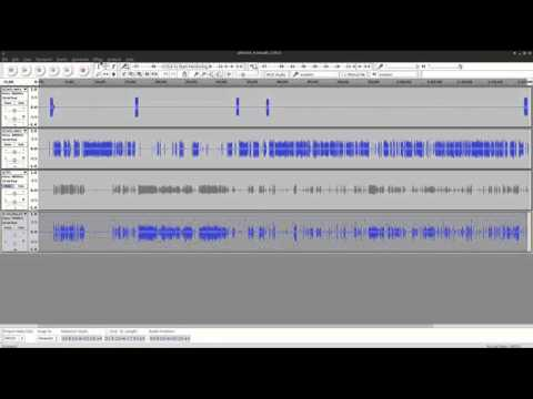 Podcast Editing in Audacity