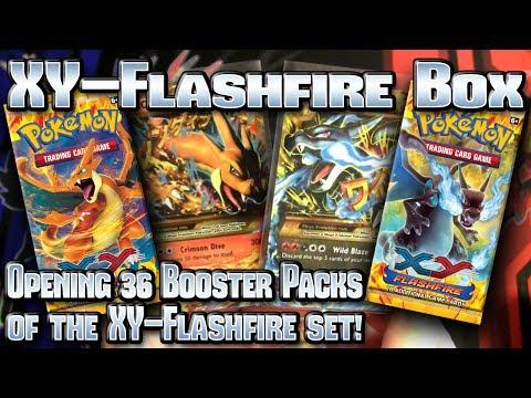 Pokémon XY: Flashfire TCG Booster Box Opening!
