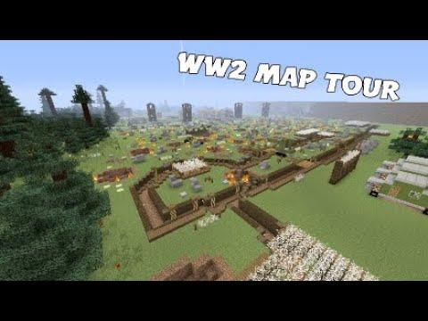 Minecraft WW2 Map Tour
