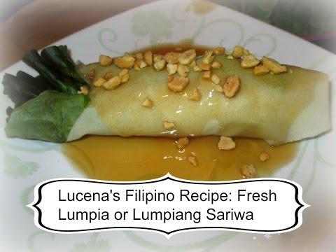 Lucena's Famous Filipino Recipe: Fresh Lumpia or Lumpiang Sariwa   | aSimplySimpleLife