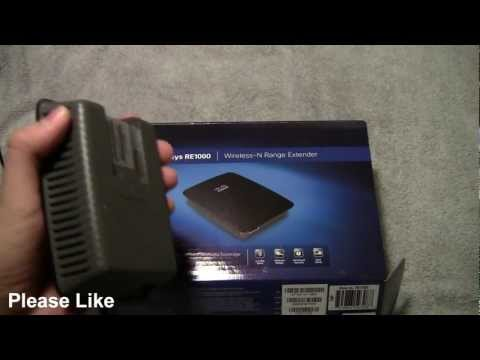 Cisco Linksys RE1000 Wireless-N Range Extender