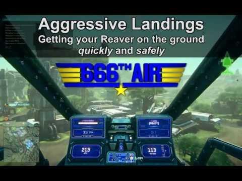 666th Air Wing: Aggressive Landings guide