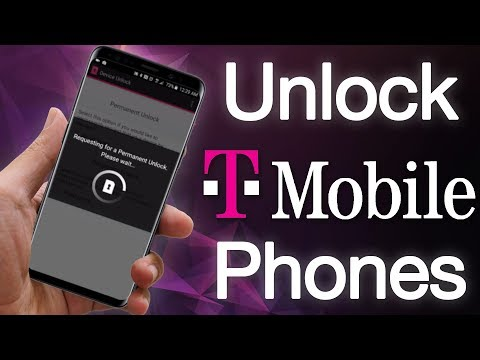 Unlock T-Mobile Samsung S9 S9 Plus Note 9 Note 8 S8 S7 S6 S5 Using the Device Unlock App Service
