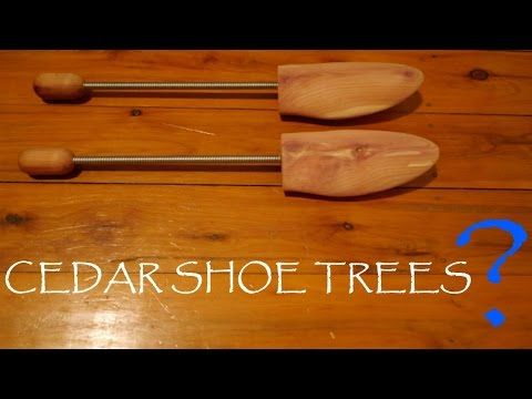 WHAT ARE CEDAR SHOE TREES USED FOR