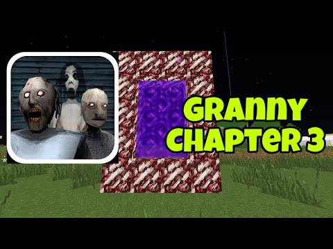 How To Make a Portal To GRANNY'S HOUSE In Minecraft!!