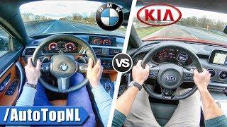 Download Kia Stinger GT vs BMW 440i xDrive | 0-250km/h ACCELERATION TOP SPEED POV & SOUND by AutoTopNL Video