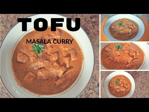 TOFU MASALA CURRY ||  TOFU CURRY RECIPE INDIAN STYLE