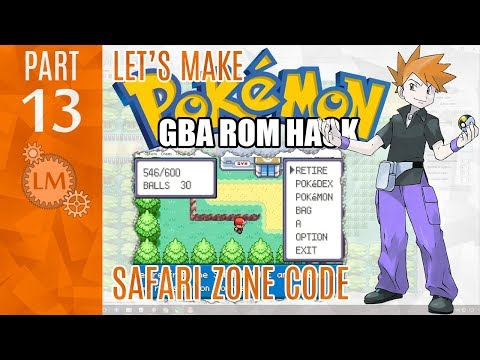 How To Make a Pokémon Rom Hack GBA Part 13 ⚙ Exploring the Safari Zone Code