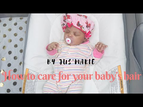 Baby Hair Care Routine