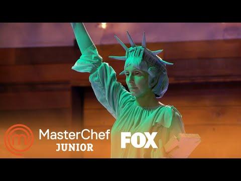 The Statue Of Liberty Talks To The Kids | Season 6 Ep. 6 | MASTERCHEF JUNIOR