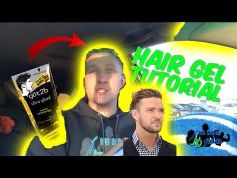 Hair Gel Tutorial / Hair like Justin Timberlake (The Real JD Squad)
