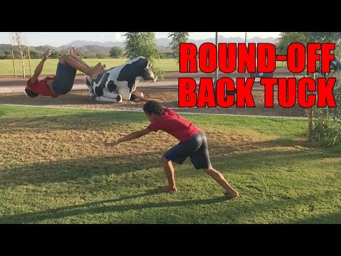 Tutorial: Simple Way To Learn A Round Off Back Tuck/Backflip