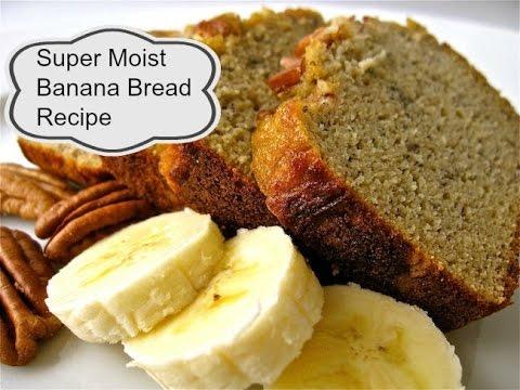 Super Moist Banana Bread Recipe -    aSimplySimpleLife Recipes