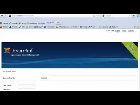 Multi language website Joomla 1.6 7-2.5 Video Tutorial