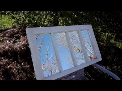 Upcycle An Old Window Into A Mirror Window