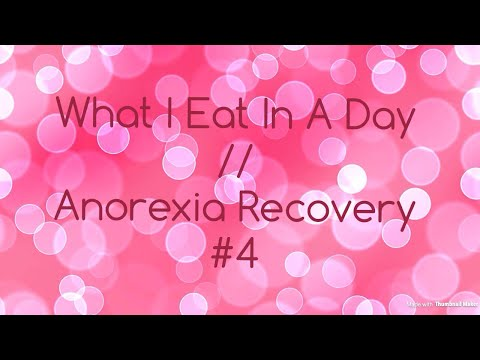 What I Eat In A Day // Anorexia Recovery