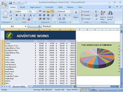 Creating a Pivot Table Report in Excel