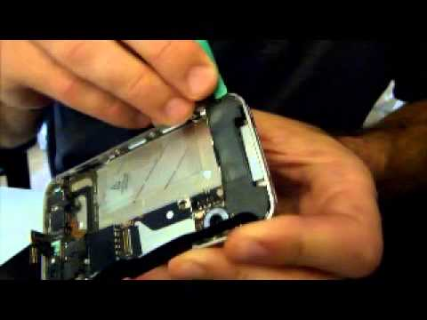 How to replace a white Verizon iPhone 4 CDMA front screen and digitizer.