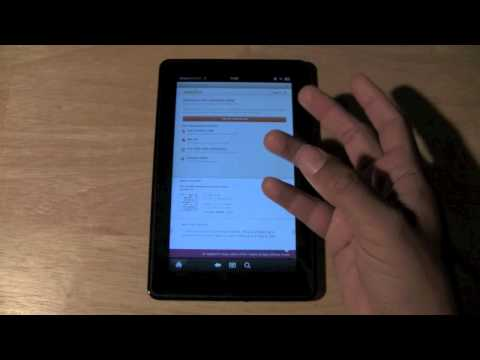 Kindle Fire: How to Download Audiobooks | H2TechVideos