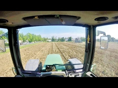 Cab View | Fendt Favorit 818 + Maschio Attila | Farm and Field