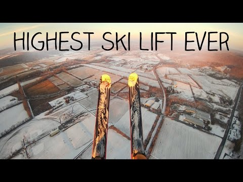 My First Time - Paramotor Ski Launch