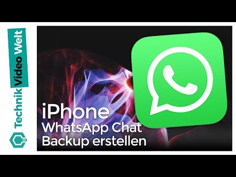 iPhone WhatsApp Chat Backup erstellen