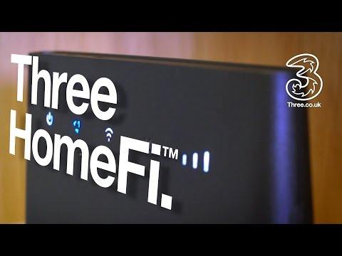 Three HomeFi | Hassle free home broadband; First Look | Three