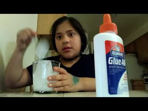 How to make slime with glue and hand soap
