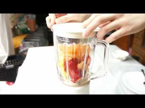 Strawberry and Orange Juice recipe 09 (Juicy Fruit Juice)