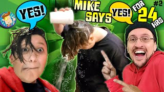 SON SAYS YES TO everything DAD FOR 24 hours? (FV FAMILY Revenge on Mike Challenge)