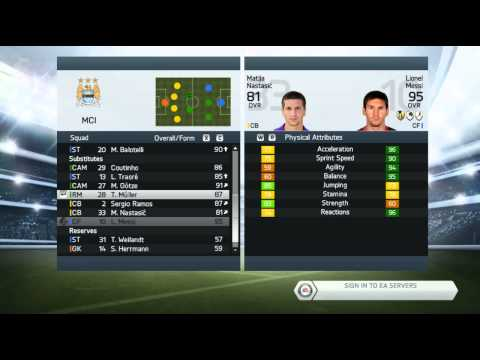 How to sign Messi in FIFA 14