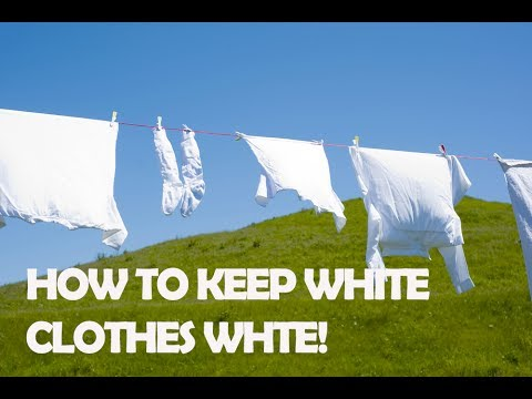 How To Wash Whites