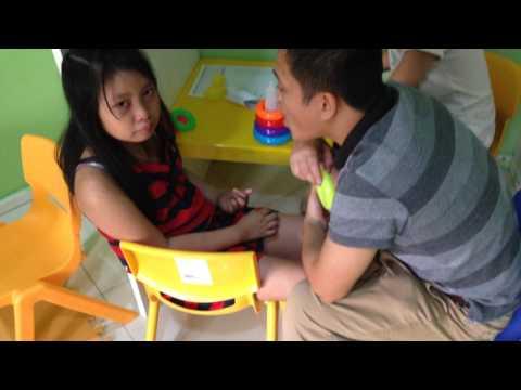 Teaching ABA (child in tantrums)