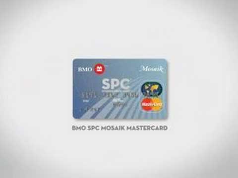 BMO SPC Card Mosaik Mastercard