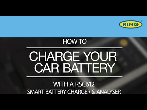 How to Charge a Car Battery with a Ring RSC612 Smart Charger