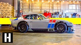 Frankenstein V8 240z Build: 5 year Track/Street Project is Almost Too Nice to Race
