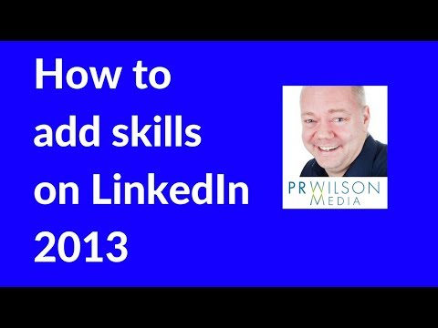How to add and endorse skills on Linkedin