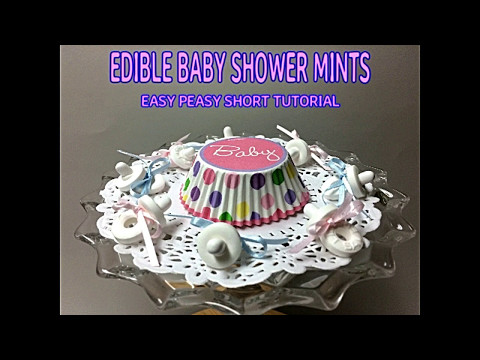 BABY SHOWER PACIFIERS, LIFESAVER MINT, TIC TAC, & JELLY BEAN