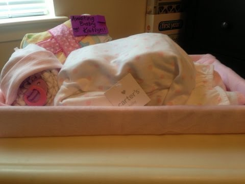 How to Make a Diaper Baby | Sleeping Girl Gift