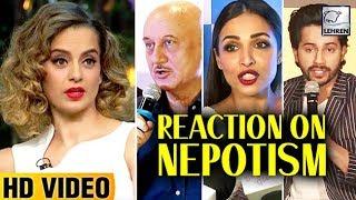 Bollywood Reaction On Kangana Ranaut