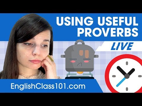 Most Common English Proverbs - Basic English Phrases