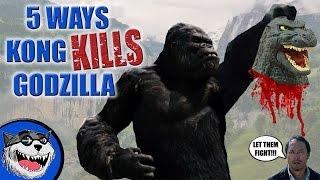 3 Ways Kong will KILL Godzilla!