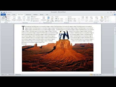 Microsoft word tutorial |How To Remove Your Own Photo Background in word
