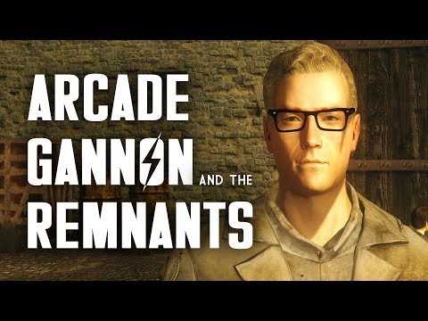 The Full Story of Arcade Gannon and the Remnants - Fallout New Vegas Lore