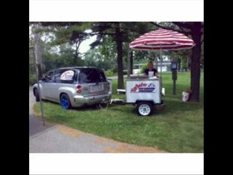 Push Carts & Mobile Ice Cream Treat Catering Carts